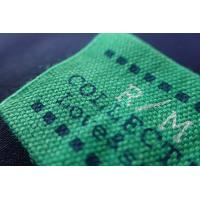 Buy cheap Rectangle Screen Printing Custom Woven Labels For Clothes,Hats from wholesalers