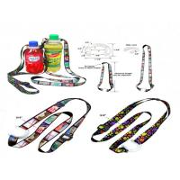 Buy cheap Polyester Bottle Holder Lanyard With Adjustic Buckle from wholesalers