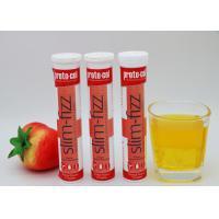 Buy cheap Konjac Powder Slim Fizz Tablets Glucomannan Effervescent Tablets OEM GMP Certified product
