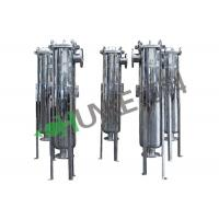 Buy cheap Multi Housing Flange Bag Filters RO Water Treatment Plant For Juice Or Honey Filtration High Precision from wholesalers