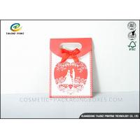 Buy cheap Nice Design Paper Shopping Bags Durable Environmental Friendly Materials from wholesalers