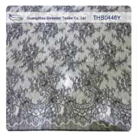 Buy cheap 100% Nylon Lace Fabric Fashion Garments Wedding Dress Floral Stretch Lace Fabric from wholesalers