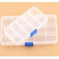 Buy cheap Slots Adjustable Jewelry Storage Box Case Craft Organizer Beads Plastic from wholesalers
