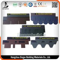 Buy cheap Wholesale price 3 tab asphalt roofing shingles, red standard roofing shingles from wholesalers