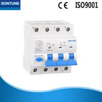 China 4 Pole Rcbo Circuit Breaker MCB + RCD AC Type Residual Current Operated Circuit Breaker on sale