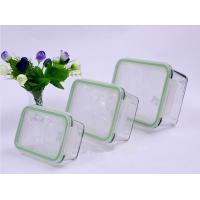 Buy cheap 370ml 640ml 1040ml Rectangular Pyrex Glass Food Container Set (GFC-REC) from wholesalers