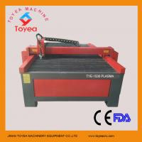 Buy cheap 60A Huayuan plasma source CNC plasma cutting machine for cutting stainless steel  TYE-1530 from wholesalers