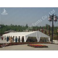 Buy cheap Portable Aluminum Structure Big Party Event Tents , Amazing White Fabric Party Marquee from wholesalers