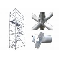 Buy cheap Q235 Cuplock Scaffolding System High Loading Capacity For Round Building Construction product