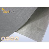Buy cheap High Temperature Resistant PU Coated Fiberglass Fabric 0.7mm For Fireproof Blanket from wholesalers