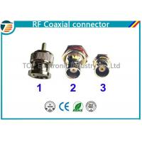 Buy cheap Straight 75Ω Cable Mount RF Coaxial Connector BNC Connector Plug RG59 product