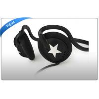 Buy cheap Promotional Gift MP3 sports neckband headphones / earphines in purple red blue product