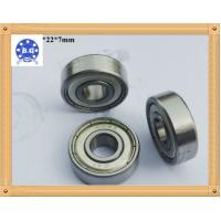 Buy cheap Single Row Deep Groove Ball Bearing For Instruments / Agricultural Machines in  ZZ RS 2RS Type from wholesalers