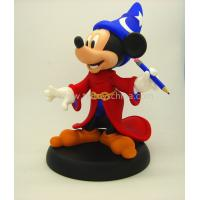 Buy cheap blue hat little micky mose figurine cute resin cartoon character gifts from wholesalers