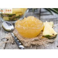 Buy cheap Delicious Pineapple Canning Fruit Jam With Yellow Different Sizes from wholesalers