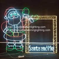 Buy cheap wire frame christmas light motif from wholesalers