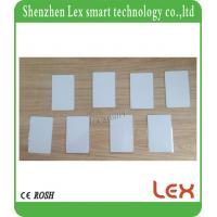 China White PVC Smart Card MF 1K S50 For IC 13.56MHz 1K credit card size RFID Readable Writable custom plastic cards on sale