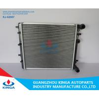 Buy cheap Mitsubishi Radiator Aluminum Brazed Radiator For Golf 97 / Fabia 99 Plastic Tank PA66 + GF30 from wholesalers