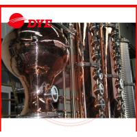 Buy cheap Turn-key Red Copper Alcohol Distilling Machine for Wisky,Vodka,Moonshin from wholesalers