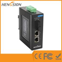 2 Port Gigabit Ethernet Switch , Managed Network Switch 512kb Buffer Memory