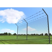 Buy cheap Green Pvc Coated Roll Hdg Metal Chain Link Fence from wholesalers