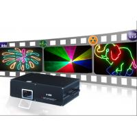 Buy cheap 600mW RGB color LED stage light moving heads beam laser show projector with Sound from wholesalers