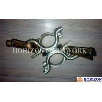 Buy cheap Self Colour Scaffolding Accessories ,  Double Swivel Coupler Easy Operation from wholesalers
