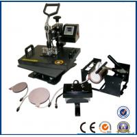 Buy cheap New type T-shirt press plate printing 8 in 1 mug combo heat press machine for all fabric factory 27A from wholesalers