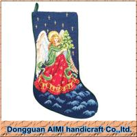 Buy cheap Chirstmas Needlepoint Fairy Design Stockings, Size 10*17 from wholesalers
