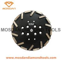 Buy cheap 10 Inch Blastrac Shield Diamond Plates for Concrete Grinding with 20 Bars from wholesalers