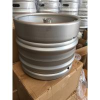 Buy cheap 30L Beer keg, food grade stainless steel, automatically welding, with A,S,D,G,M type valves. from wholesalers