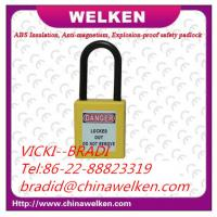 Buy cheap CHINA BRADI , WELKEN ,38mm Shackle, CE certificate, Combination ABS and Nylon Plastic Padlock Lockout from wholesalers