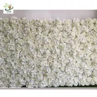 Buy cheap UVG DIY party background in silk rose and hydrangea flower wall backdrops for weddings from wholesalers