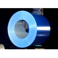 Buy cheap Blue / Custom Color Ppgi Steel Coil, 40 - 275g Zinc Coated Color Steel Coil from wholesalers