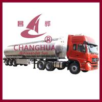 Buy cheap Enclosed Trailer 3 Axle Aluminum Fuel Oil Tanker Semi Trailer Tanker Truck from wholesalers