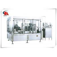 Buy cheap Fully Automatic Liquid Filling Machine 2800kg Weight Adopting Normal Pressure Gravity from wholesalers
