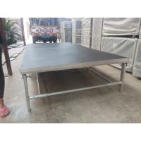 Buy cheap Portable Aluminum Movable Stage Platform 18mm Plywood Board And Aluminum Frame from wholesalers