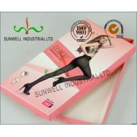 Buy cheap Decorative Cardboard Handcrafted Gift Boxes With Lids , Bikini Garment Packaging Box from wholesalers