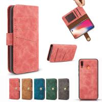 Buy cheap Detached 2 in 1 Wallet Case For Samsung Galaxy A20 A20e A30 A40 A50 A70 Wallet Cover Matte Pouch Wholesale from wholesalers