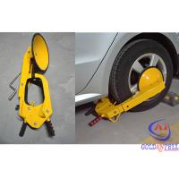 China Antitheft Car Wheel Clamp Lock And Steering Wheel Lock for 30-40 inch tire on sale