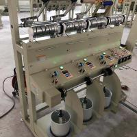 Buy cheap 4 Heads Yarn Cone Winding Machine Low Noise 1200 Mt/Min Cotton Flax Wool Silk from wholesalers