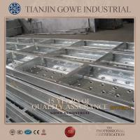 Buy cheap Q195 Galvanized metal scaffold planks with hooks for building from wholesalers