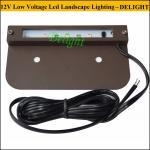 Buy cheap Stainless Steel Warm White LED Stair Step Light Low Voltage stone column Lighting 12V Landscape Lamp LED Hardscape Light from wholesalers