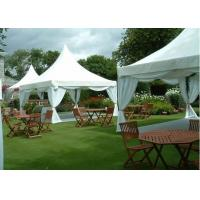 Buy cheap White Aluminum Pagoda Tent 100 Km / H Max Wind Loading Easy Installation from wholesalers