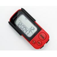 Buy cheap PD-7006 3D Sensor Pedometer Walking 3D Pedometer Fitness Calorie Monitor Red+Black from wholesalers