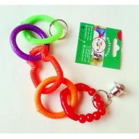 Buy cheap 5 rings plastic bird toy for added funs suitable for budgies from wholesalers