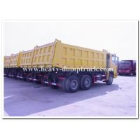 HOWO 6x4  Mining Dump / Tipper Truck 30tons with Q345 steel and negative grounded