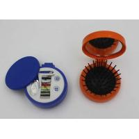 Buy cheap Round Plastic ABS + Rubber + Nylon Mini Sewing Kit / Compact Hair Brush With Mirror from wholesalers