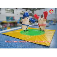 Buy cheap PVC Kids Inflatable Sports Games , Inflatable Foam Padded Sumo Wrestling Suits from wholesalers