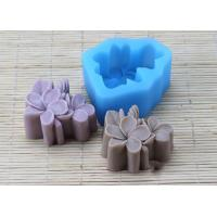 Buy cheap Food Garde Multi Flower Silicone Mold , Pink Silicone Soap Making Molds from Wholesalers
